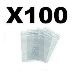sachet plastique  100 / 100...